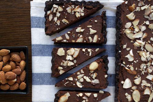 Chocolate Almond Espresso Tart — Wright Kitchen