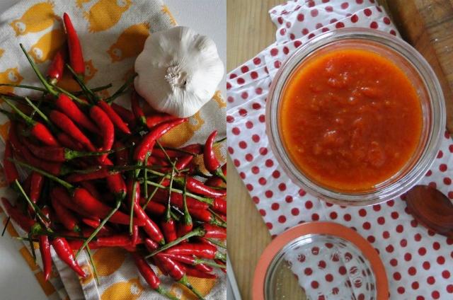 Homemade Sriracha | Paper Doll Parade | Pinterest