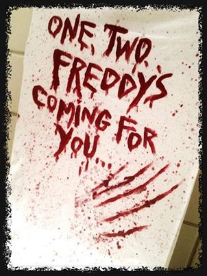 One two freddys coming for you halloween pinterest