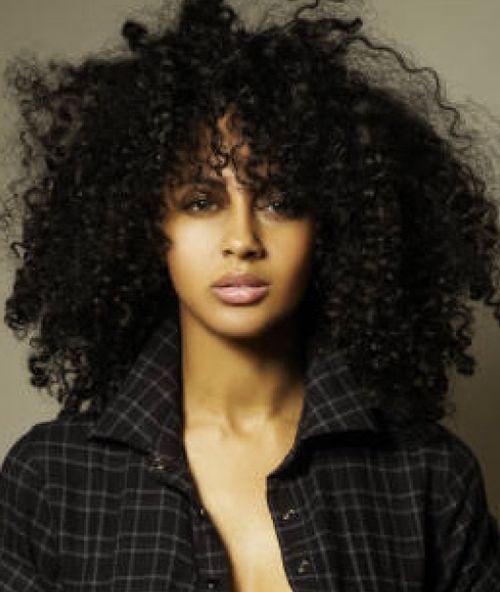 black natural hair
