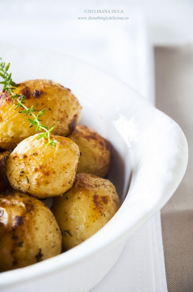 Roasted Baby Potatoes with Soy Sauce | Gastronomic Delights | Pintere ...