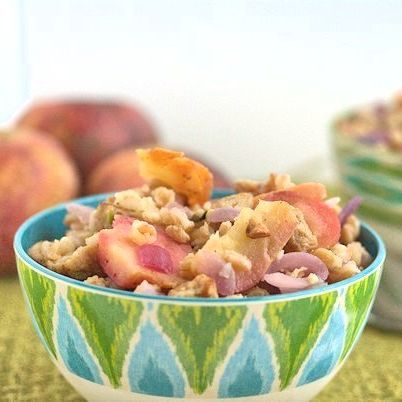 Fall Farro with Sausage and Apples   eating and drinking   Pinterest