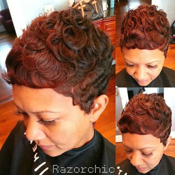 Atlanta Black Women Short Pixie Hairstyles