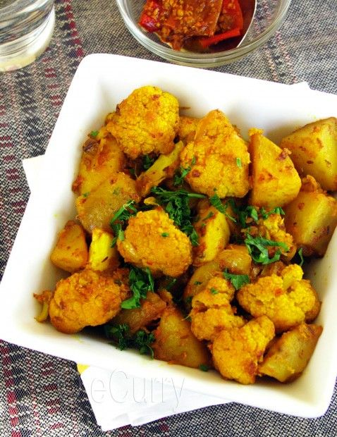 Aloo Gobi / Spiced Cauliflower and Potatoes