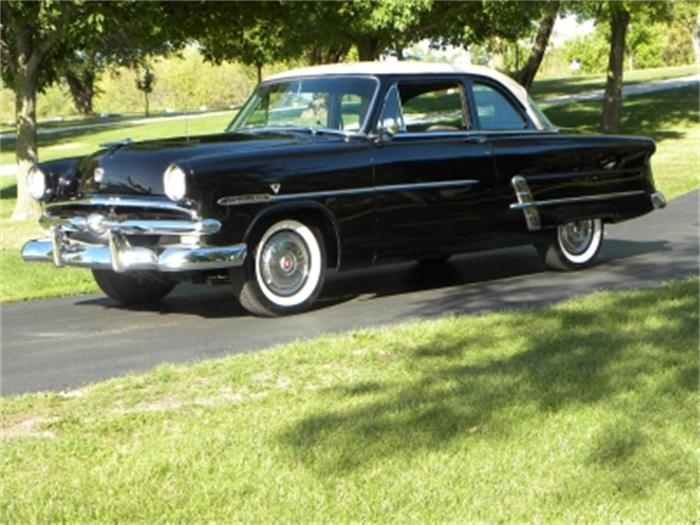 1953 ford customline two door sedan cars pinterest for 1953 ford 4 door sedan