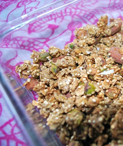 Crunchy Maple Quinoa Granola | y u m | Pinterest