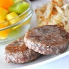 Homemade breakfast sausage - preservative free