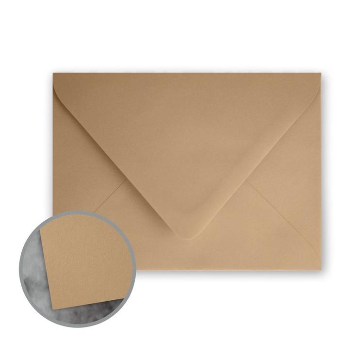 Flavours Gourmet Chestnut Creme Envelopes - A1 (3 5/8 x 5 1/8) 70 lb Text Smooth 25 per Box