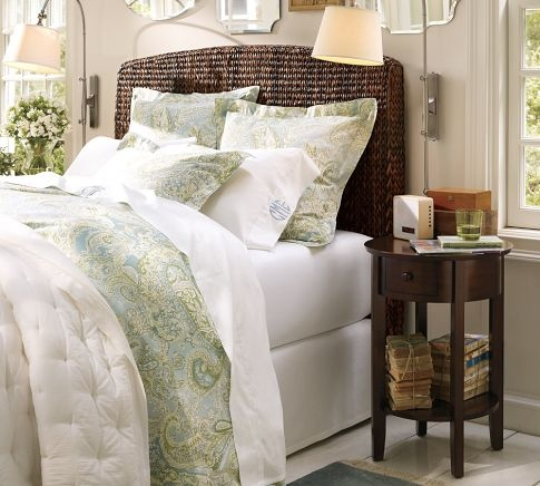Seagrass Headboard Pottery Barn For The Home Pinterest