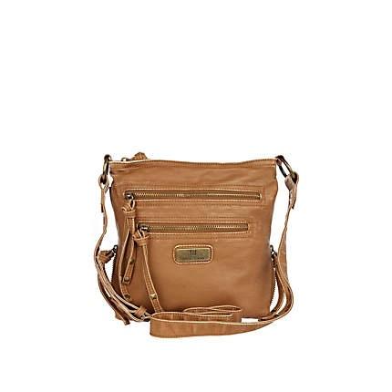 dark beige mini cross body messenger bag - cross body bags - bags / purses - women - River Island