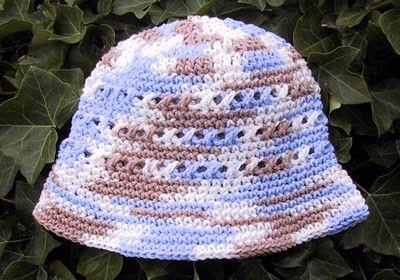 Crochet Knit Stitch Hat : Free Crochet Cross Stitch Hat Pattern. Crochet/Knitting/Plarn/Tatti ...