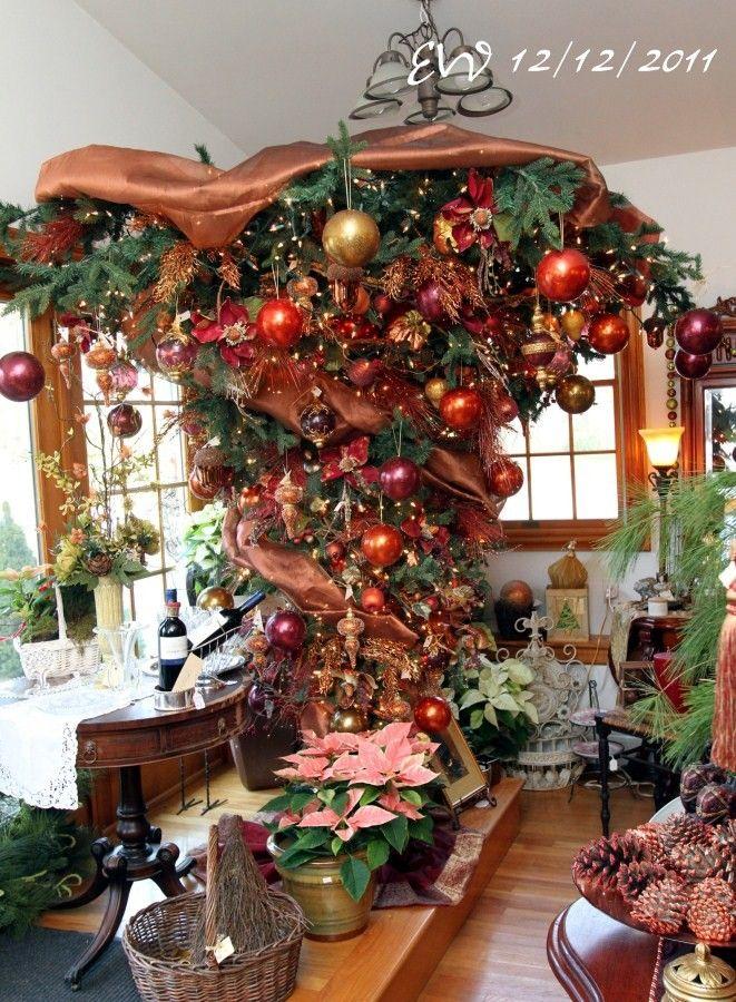 Upside down christmas tree unique christmas trees - Why upside down christmas tree ...