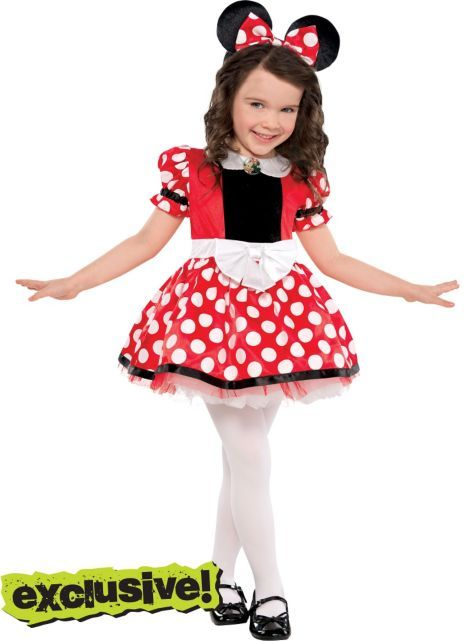 Girls Red Minnie Mouse...