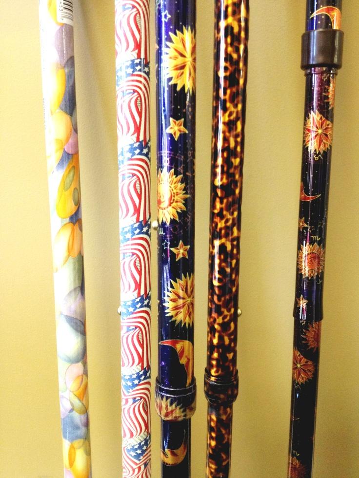 fashionable walking- canes | crafty things | Pinterest