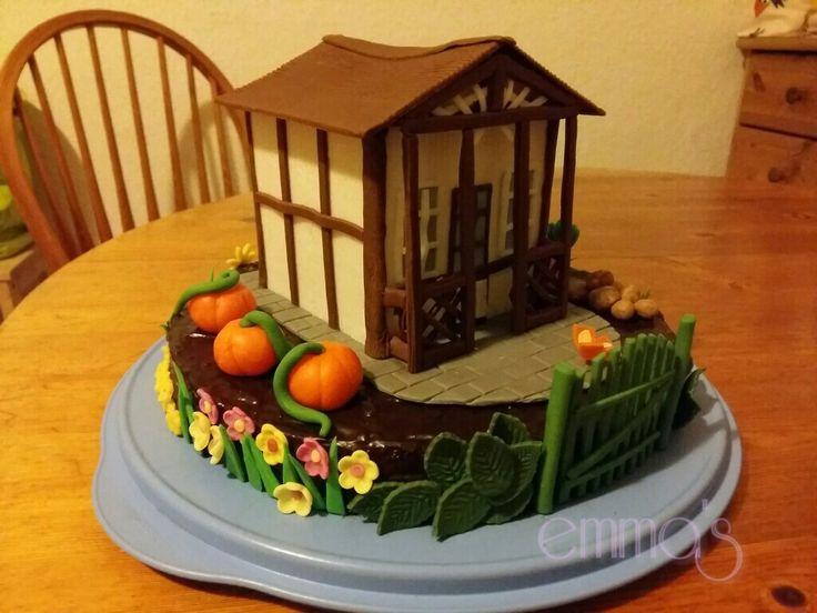 Mein Gartenhaus Motivtorten, Torten, Herbstanfang