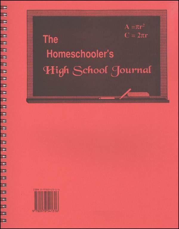Homeschooler's High School Journal