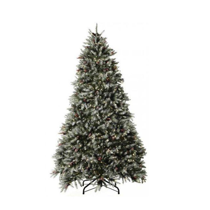 Dunhill Fir Pre Lit Christmas Tree