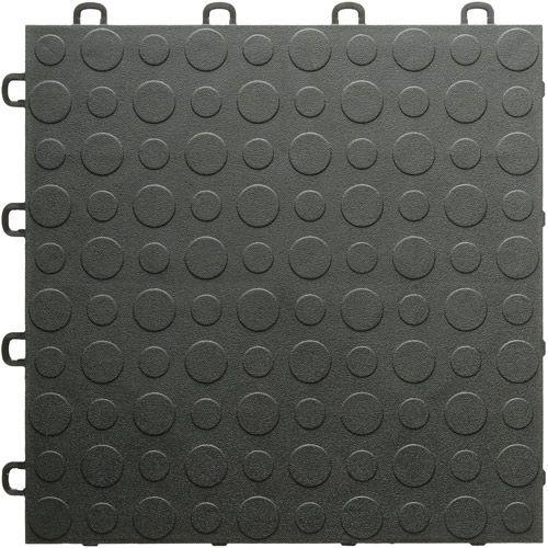 BlockTile Modular Interlocking Garage Floor Tiles Set Of
