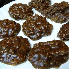 Peanut Butter Oatmeal Cookies III Recipe | Chocolate desserts | Pinte ...