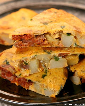 Simple Supper: Spanish Tortilla with Chorizo | Recipe