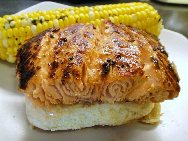 Roasted Corn With Cilantro Butter Recipe — Dishmaps