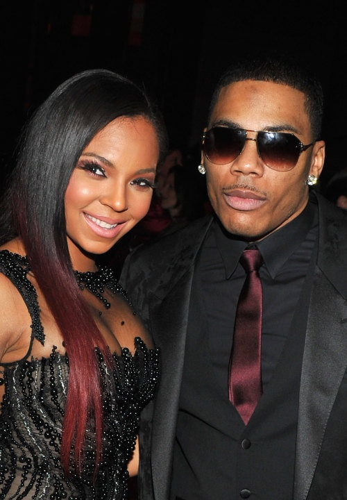 Pictured: Ashanti and Nelly | Best Pictures From the BET ...
