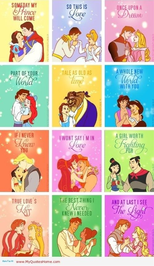 Disney Song Quotes:: I just love how instantaneously these single ...