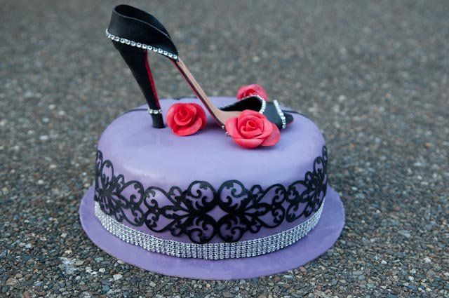 high heel shoe cake cakes cake decorating daily