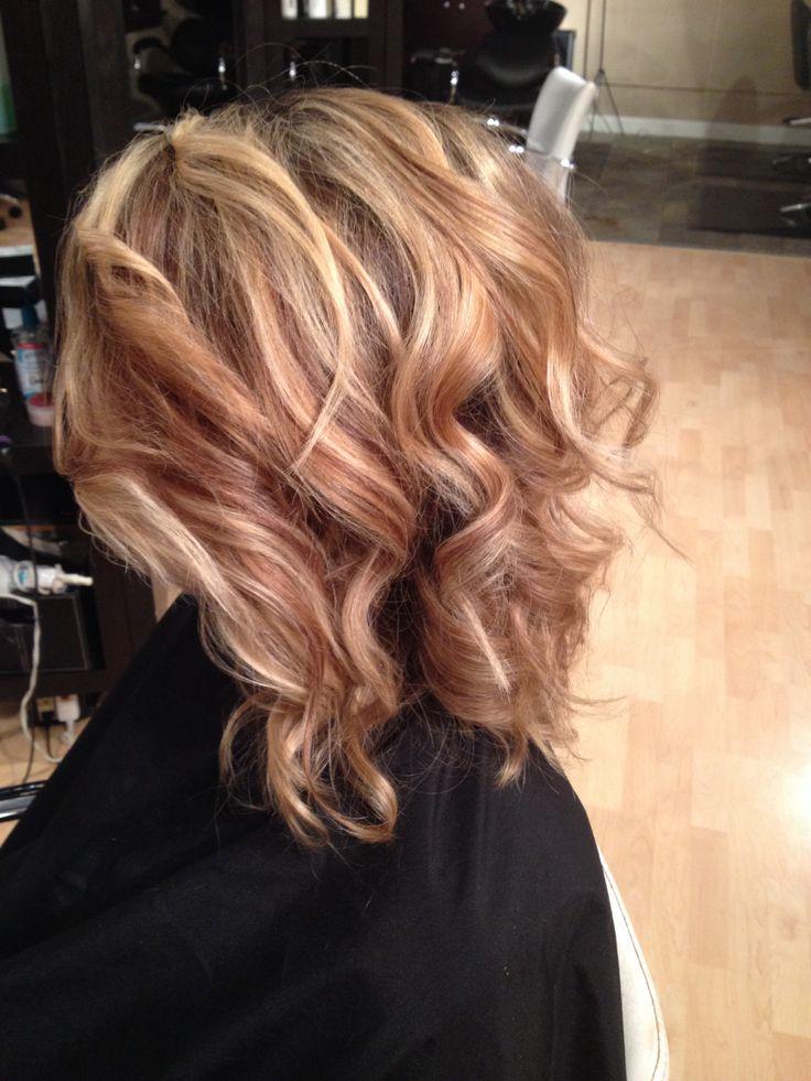 Blonde hair with golden lowlights | Hair | Pinterest