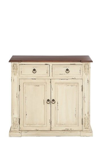 Distressed Wood Cabinet Want Pinterest