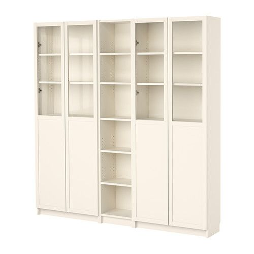 Billy Bookcase With Doors : BILLY bookcase combination with doors  Art Rooms  Pinterest