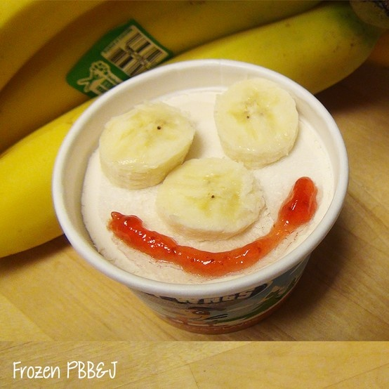 Your fur-kiddos are sure to smile after a frozen PB, B, & J! Top our Peanut Butter Chilly Wags with some fresh banana slices and strawberry jam to re-create a childhood favorite for your pup.