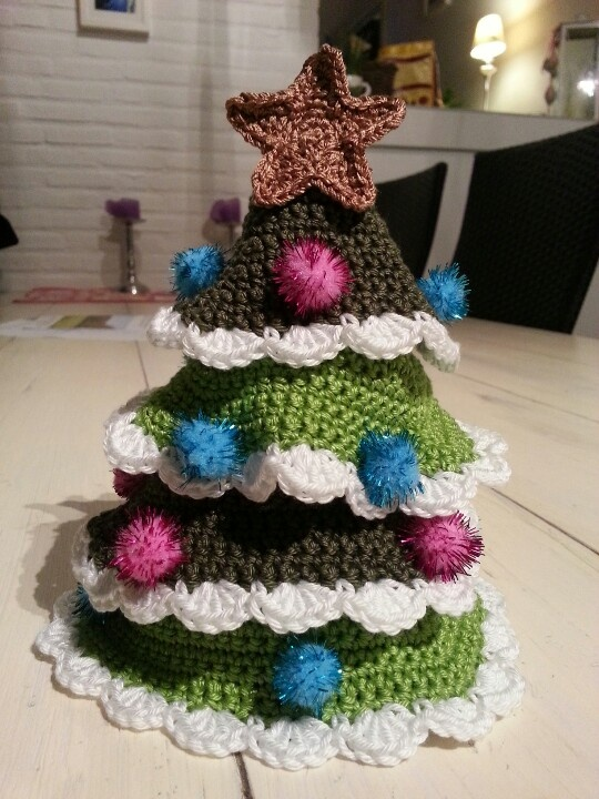 Crochet christmas tree crochet pinterest