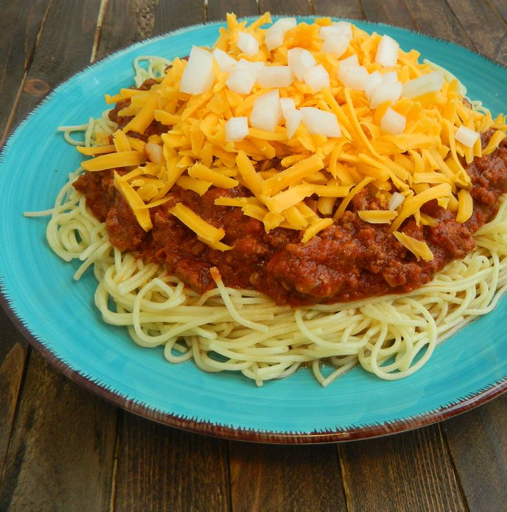 Authentic Cincinnati Chili Recipes — Dishmaps