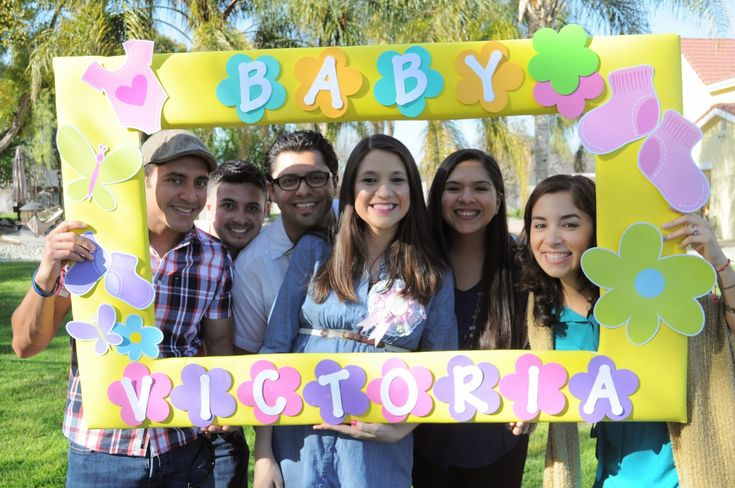photo booth baby shower picture frame baby shower pinterest