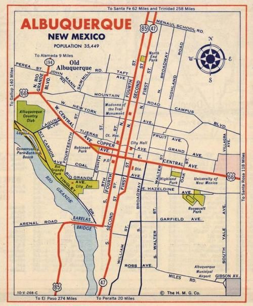 Albuquerque  I Like Maps  Pinterest