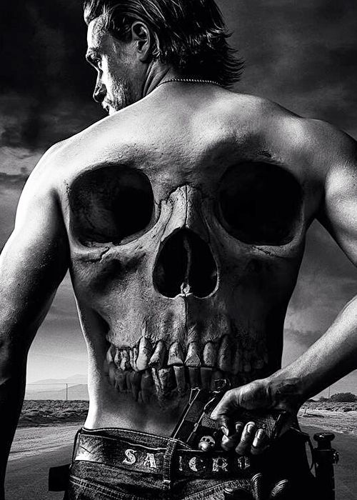 Sons Of Anarchy Final Season poster Jax Teller