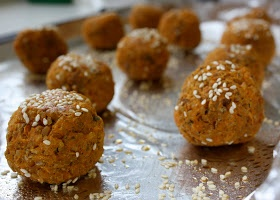 baked Sweet Potato Falafel | please sir, I'd like some more | Pintere ...