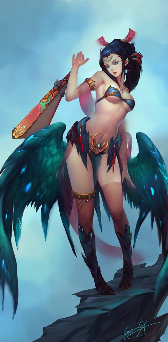 Succubus fantasy characters pinterest