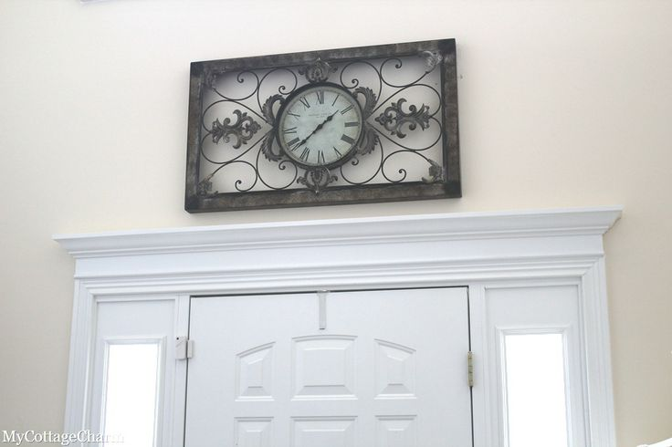Add Moulding Above Doors For The Home Pinterest