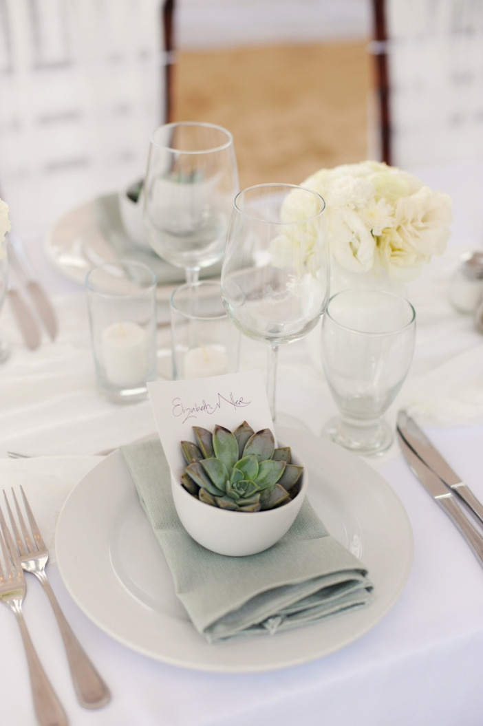 Simple Table Setting : Table Settings