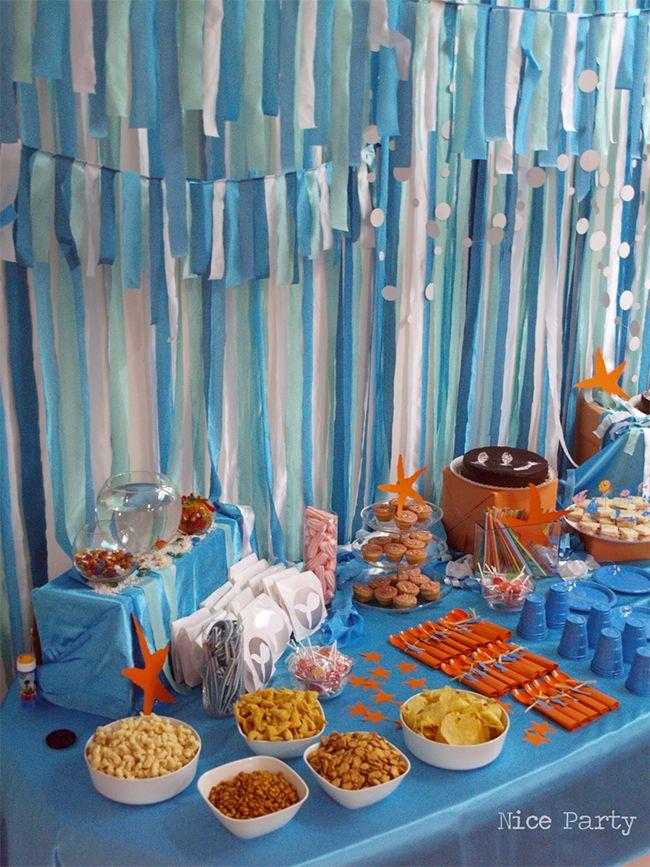 fiestas de cumple bajo el mar
