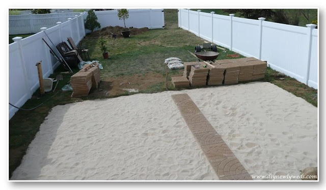 installing patio pavers for the home