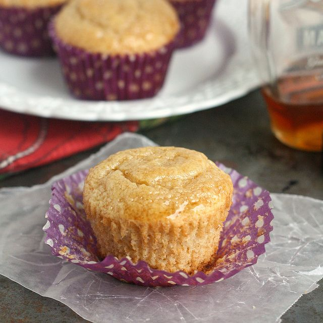 Maple Syrup Pancake Muffins by @Tracey Wilhelmsen (Tracey's Culinary ...