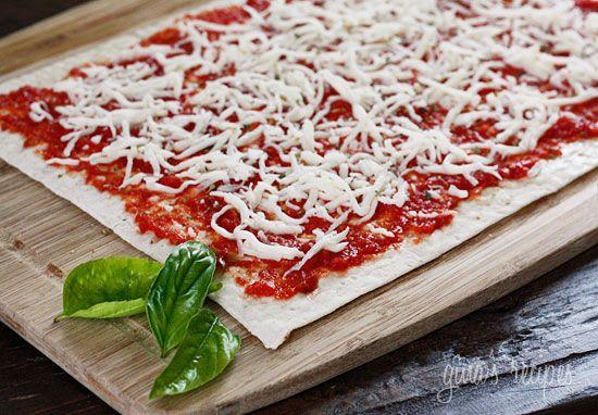 Lavash Flatbread Pizzas | Skinnytaste. Being a pizza love, I most ...