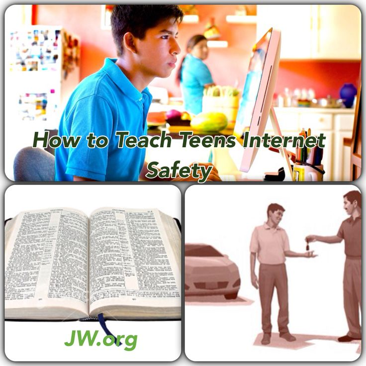 Free teen internet safety publications