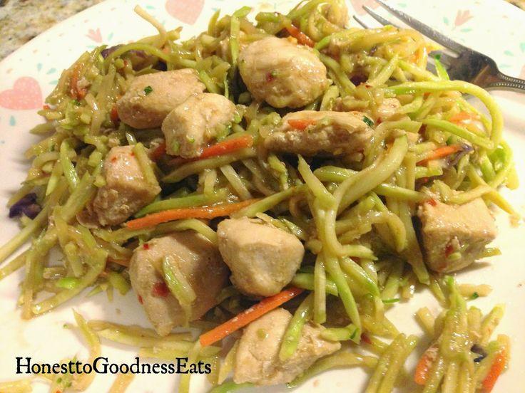 ... Goodness Eats: Chicken Stir Fry using Broccoli Slaw - Low Carb Recipe