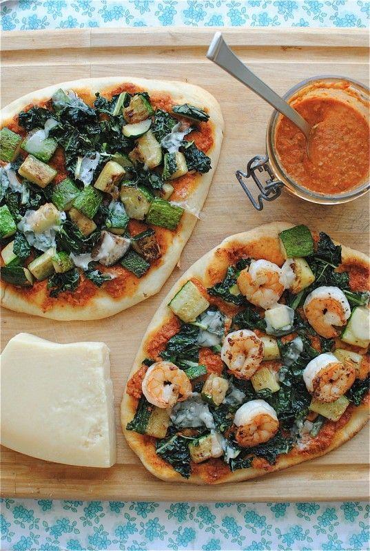trapanese pesto pizza