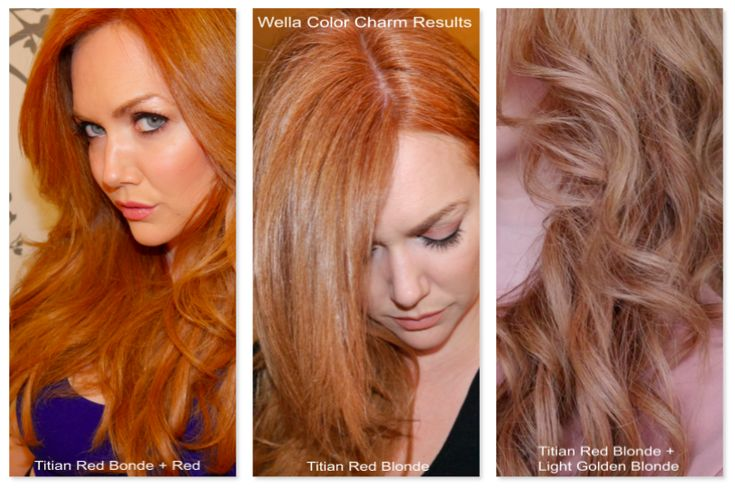 strawberry blonde hair wella color charm strawberry blonde hair - Wella Color Charm