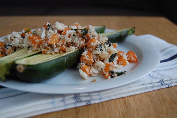 Zucchini with Cod Apricot Salsa-small | Paleo | Pinterest